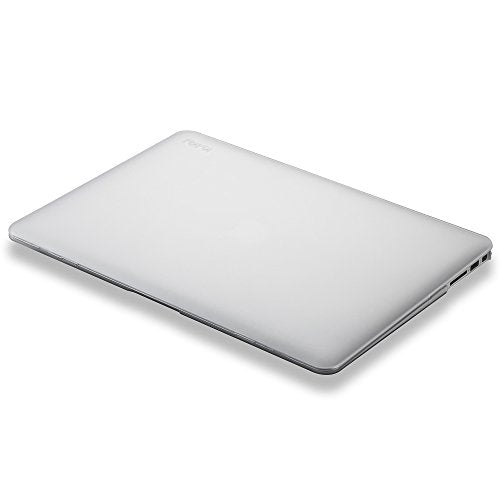 Kuzy - MacBook Air 11 inch Case A1465, A1370 Soft Touch Shell Cover - White