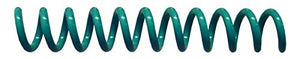 Spiral Coil Binding Spines 8mm (5/16 x 12) 4:1 [pk of 100] Light Teal (PMS 321 C)