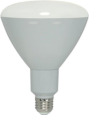 6 Pack - Satco 11.5 watt; LED BR40; 3000K; 103' Beam Spread; Medium Base; 120 Volts; Dimmable - S9635