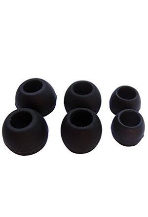 New Replacement Silicone Ear Tips, Universal Set, compatible with Sony HPM-90