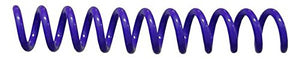 Spiral Coil Binding Spines 8mm (5/16 x 12) 4:1 [pk of 100] Purple 112 (PMS 267 C)