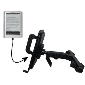 Innovative Headrest Vehicle Mount to Support Sony PRS650 Reader Touch Edition Tablet by Gomadic