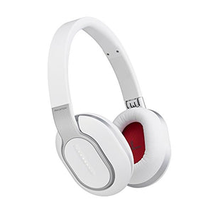 Phiaton Bluetooth BT 460 Wireless Touch Interface Premium Headphones Mic (White)