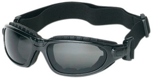 Liberty ProVizGard Challenger Sporty Goggle with Removable Headband, Gray Lens, Black Strap (Case of 6 Pairs)