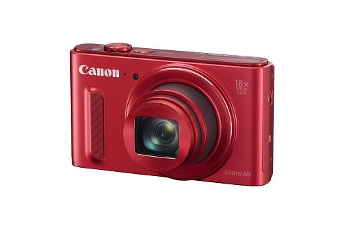 Canon PowerShot SX610 HS (Red)