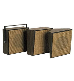VALCOM VC-V-1022C 1Watt 1Way Wall Speaker - Brown
