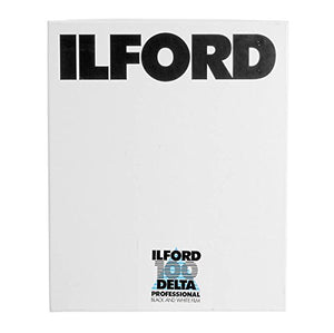 Ilford Delta-100 Professional 4x5in. 100 Sheets B&W Negative Film (ISO-100)