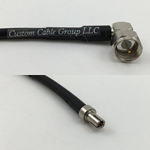 15cm RG316 F MALE ANGLE to TS-9 MALE Pigtail Jumper RF coaxial cable 50ohm 6inch High Quality Quick USA Shipping