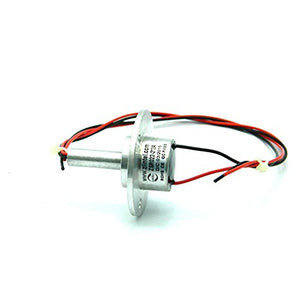 1 pcs lot the rotor end protruding 20mm long 2 channel 5A Metal slip ring