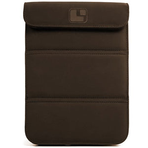 Smart Glove Brown Premium Durable Leather Cover Sleeve Carrying Case can Easily be Converted to a Stand for Kindle Touch (Wi Fi 6 inch E Ink Display)