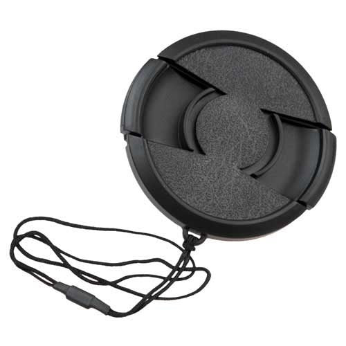 Fotodiox Inner Pinch Lens Cap, Lens Cover With Cap Keeper, 58mm