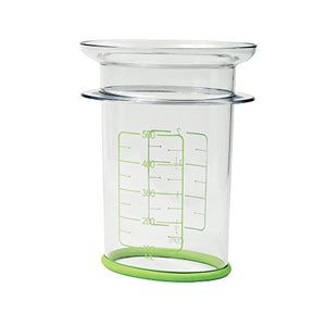 Healthy Measures Measuring Storage Bag Filler, 4 x 5.25 x 6.75 inches, Clear
