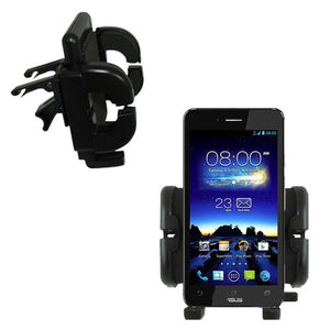 Gomadic Air Vent Clip Based Cradle Holder Car/Auto Mount Suitable for The Asus Padfone Infinity