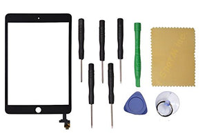Black Touch Screen Glass Digitizer Replacement for The New iPad Mini 3 3Rd Generation