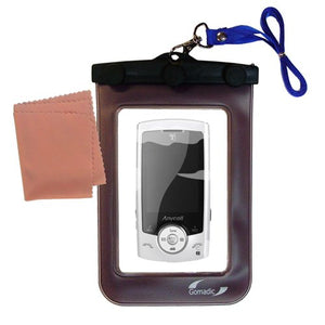 Gomadic Outdoor Waterproof Carrying case Suitable for The Samsung Mini to use Underwater - Keeps Device Clean and Dry