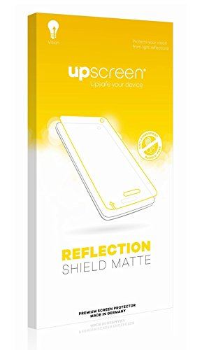 upscreen Reflection Shield Matte Screen Protector for AGPtek 8GB MP3-Player, Matte and Anti-Glare, Strong Scratch Protection, Multitouch Optimized