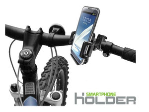 Unimax MaxMango Universal Bicycle Phone Holder for Smartphones (Up to 4 Inches Wide)