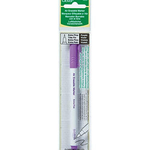 Clover Air-Erasable Marker - Extra Fine-Purple