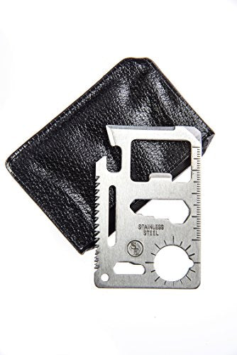 Se 11 Function Stainless Steel Survival Pocket Tool   Mt908 1