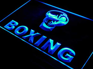 ADVPRO Boxing Gloves Club Fight Bar Pub LED Sign Neon Light Sign Display i579-b(c)
