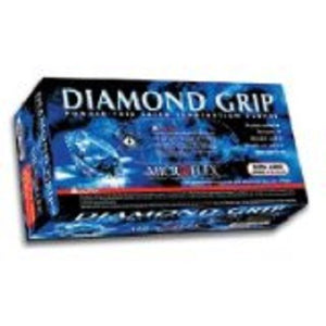 Microflex - Diamond Grip Latex Gloves - Box Size Medium