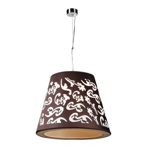 PLC Lighting 73037 BLACK Pendant from Infinity Collection