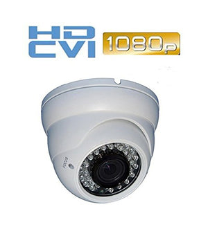 Ezdiyworld-HDCVI 1080p/2.4MP SonyEX322 CMOS, Large IR Eyeball 2.8-12mm, 36 IR LED