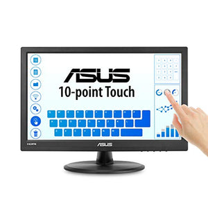 Asus VT168H 15.6? 1366x768 HDMI VGA 10-Point Touch Eye Care Monitor, 15.6-inch