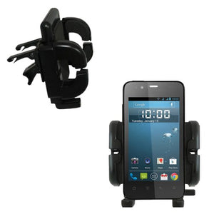 Gomadic Air Vent Clip Based Cradle Holder Car/Auto Mount Suitable for The Gigabyte GSmart Rio R1