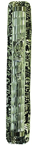 Majestic Giftware PHM14812 Jerusalem Old City Mezuzah Case Cover Art Deco Design, 6.5