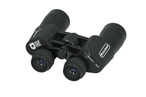 Celestron - EclipSmart 10x42 Solar Binocular - Safe Solar Viewing - ISO 12312-2 Compliant Sun Binoculars - View The Solar Eclipse and Sunspots Safely - Full Size Binocular