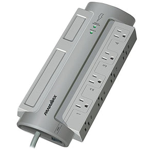 PANAMAX PM8-EX 8-OUTLET POWERMAX(TM) 8 SURGE PROTECTOR (WITHOUT SATELLITE amp; CATV PROTECTION)