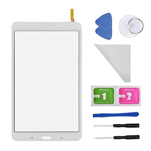 White Digitizer Touch Screen for Samsung Galaxy Tab 4 8.0 T330 T331 T332 T335 T337A T337T T337V (No Earpiece Hole) WiFi Version with Tools