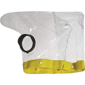 Ewa-Marine EM VC-PD150 Professional Rain Cape/Hurricane Hood Glass Optical Front Port (Clear)