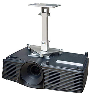 PCMD, LLC. Projector Ceiling Mount Compatible with ViewSonic PG800HD PG800W PG800X (10-Inch Extension)