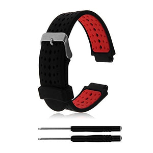 Zszcxd Soft Silicone Replacement Watch Band For Garmin Forerunner 235/220 / 230/620 / 630/735 Smart