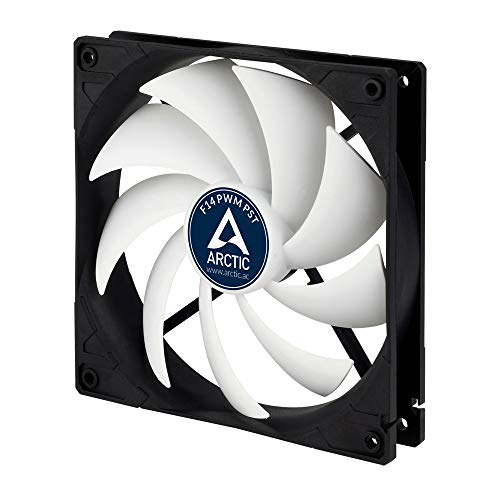 Arctic F14 Pwm Pst   140 Mm Pwm Pst Case Fan With Pwm Sharing Technology (Pst), Very Quiet Motor, Co