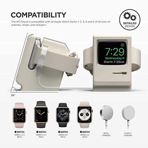 Elago W3 Stand Designed For Apple Watch Stand Compatible With I Watch Series 5, Series 4, 3, 2, 1, (4