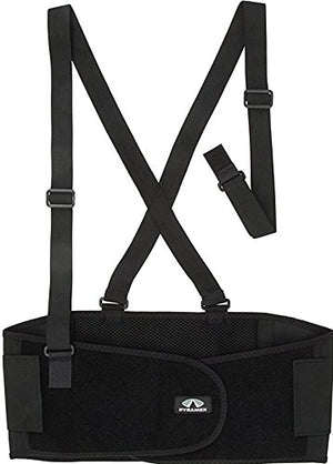 Pyramex Safety BBS300L General Use Back Support-Standard Weight, Large