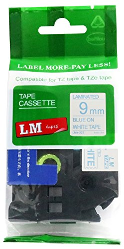 LM Tapes - Brother PT-1090 3/8