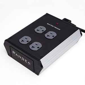 Pangea Audio Quattro - 4 Outlet Power Center (Premier)