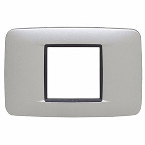 Vimar Boat Switch Plate Cover 20682.06 | 1 3/4 x 1 3/4 Inch Aluminum