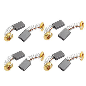 uxcell 4 Pairs Electric Drill 15.5mm x 11mm x 5mm Motor Carbon Brushes Spare Part