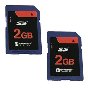 Canon VIXIA Mini X Camcorder Memory Card 2X 2GB Standard Secure Digital (SD) Memory Card (1 Twin Pack)