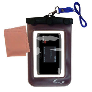 Gomadic Outdoor Waterproof Carrying case Suitable for The Sierra Wireless Aircard 753S / 754S to use Underwater - Keeps Device Clean and Dry