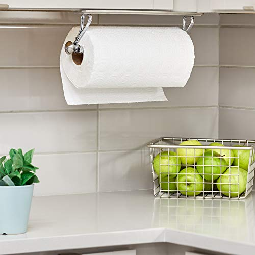 "I Design York Lyra Stainless Steel Wall Mount Paper Towel Holder   15.3"" X 5.2"" X 2"", Chrome"