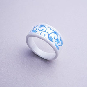 Keydex NFC Multi-Function Ring #12 (2.10 in), Fine Ceramic, Waterproof Patent [Tax Excluded]