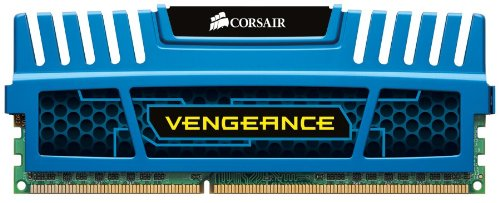 Corsair Cmz8 Gx3 M2 A1600 C9 B  Vengeance Blue 8 Gb (2 X4 Gb) Pc3 12800 1600m Hz Ddr3 240 Pin Sdram Dual Ch