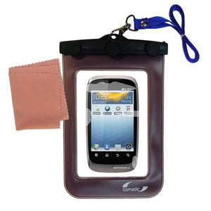 Gomadic Outdoor Waterproof Carrying case Suitable for The Motorola Fire to use Underwater - Keeps Device Clean and Dry