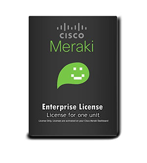 Meraki MX64W Enterprise License and Support, 3 Years, Electronic Delivery